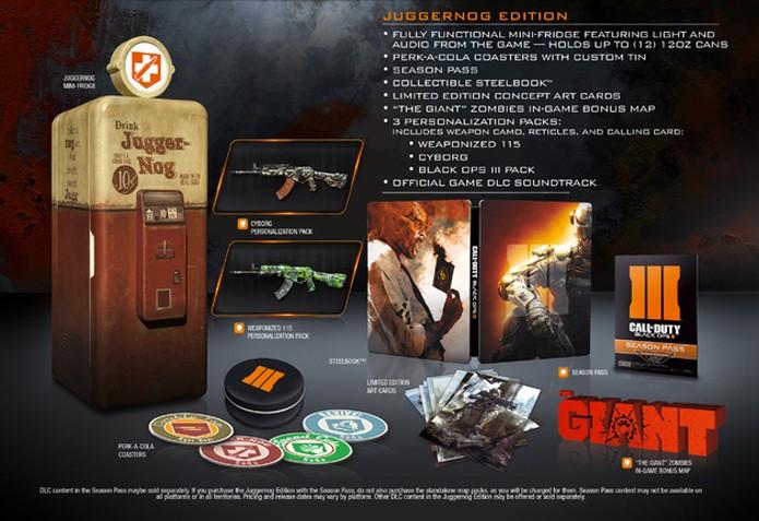 Call of Duty Black Ops 3 terá edição especial com minifreezer (Foto: Divulgação)