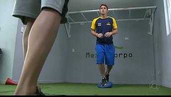 Luan vive a expectativa da estreia e  de brigar pelo tetra no futebol de cinco