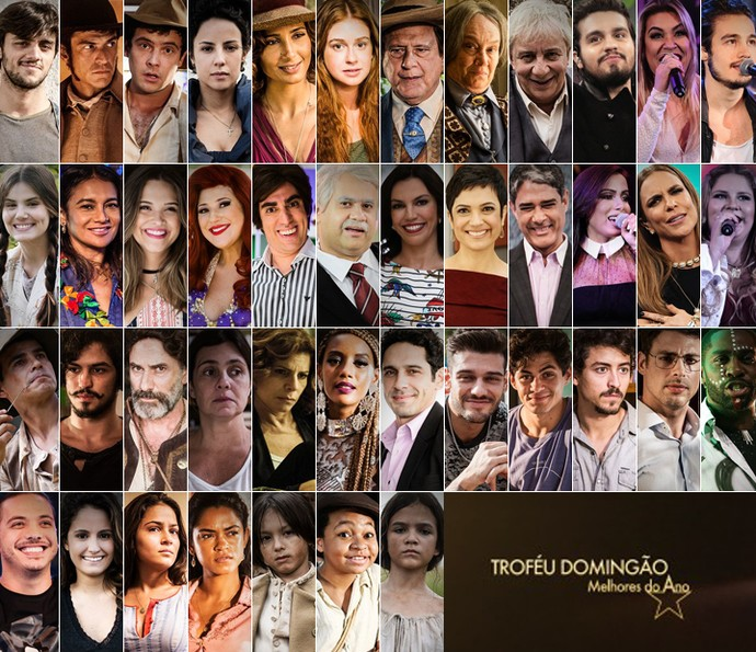 Conheça os indicados ao prêmio Melhores do Ano do Domingão (Foto: TV Globo)
