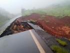 Rodovias estaduais e federais do PR continuam interditadas por chuvas