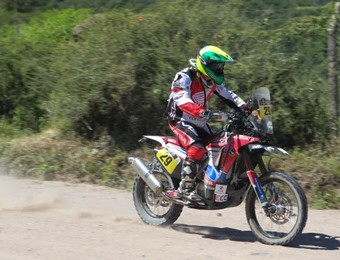 Jean Azevedo no Rali Dakar (Foto: Idário Café/VIPCOMM)