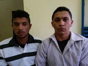 Weldiney e Jailson foram presos em Taquaralto (Foto: Divulgação/6ºBPM)