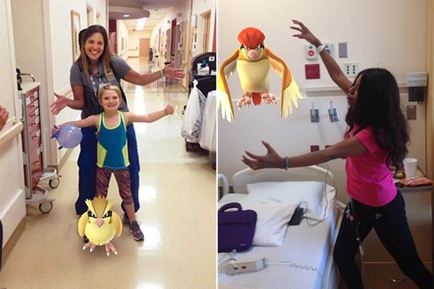 Pokemon Go no hospital (Foto: University of Michigan Health System)