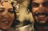 Miguel e Olívia comemoram união ao lado da família e dos amigos