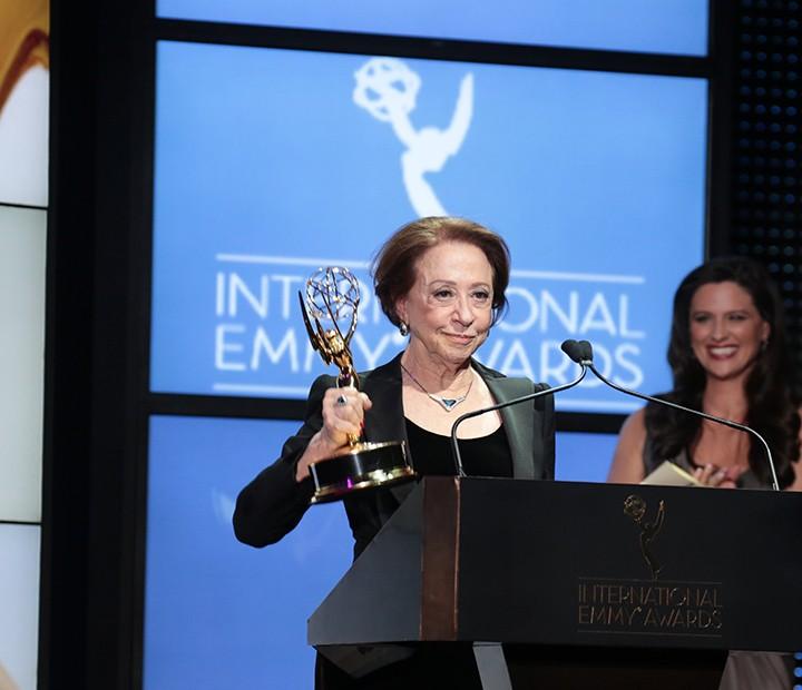 Fernanda Montenegro ganhou o Emmy de melhor atriz em 2013 (Foto: Luiz C Ribeiro / TV GLOBO)