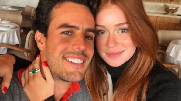 """Marina e Xande vão se casar no dia 7 de outubro: """" (Foto: Reprodução/ Instagram)"""