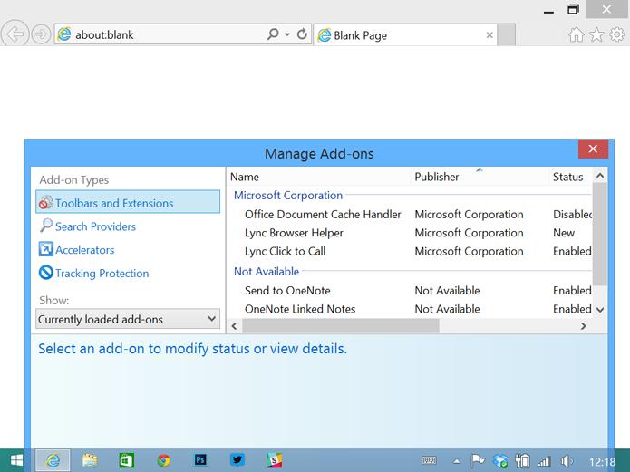 Extensões para o Internet Explorer não são comuns (foto: Reprodução/The Verge)