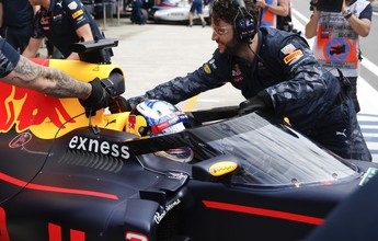 """Ricciardo aprova """"Aeroscreen"""". Chefe da RBR crê que peça salvaria Wilson"""