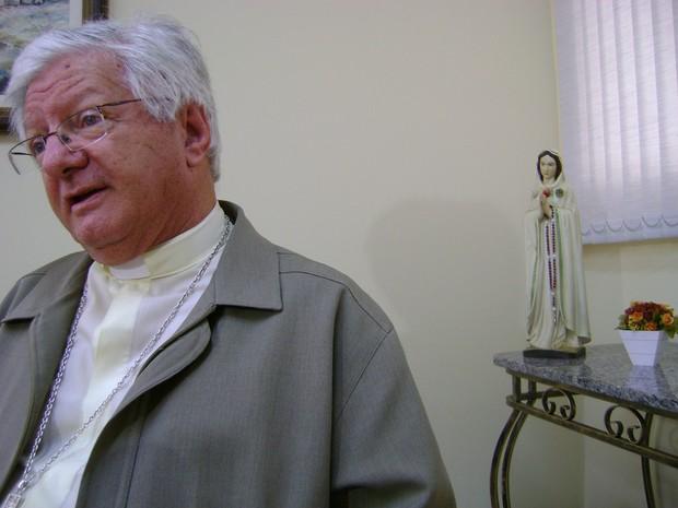 Dom Caetano Ferrari (Foto: Ana Carolina Levorato/G1)