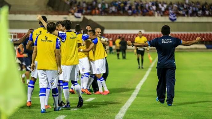 CSA comemoração (Foto: Ailton Cruz/Gazeta de Alagoas)