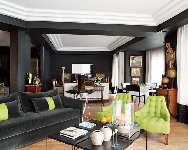 Um apartamento de alma masculina casa vogue interiores - Decoracion de interiores bilbao ...
