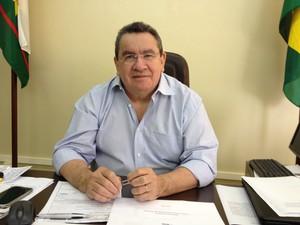 Clodezir Filgueiras, presidente da Junta Comercial do Estado de Roraima (Foto: Vanessa Lima/G1 RR)