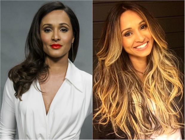 Thaíssa Carvalho: Antes e depois (Foto: Cauiá / Globo | Instagram)