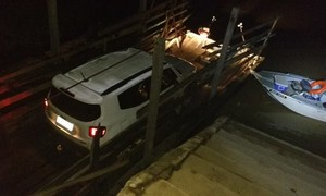 Quatro homens são presos tentando atravessar carro para a Bolívia, em RO