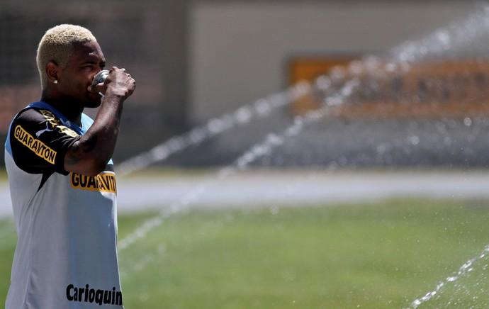Jobson treino Botafogo (Foto: Vitor Silva / SSPress)