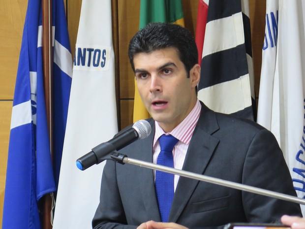 Helder Barbalho falou sobre investimentos no setor portuário (Foto: Orion Pires / G1)