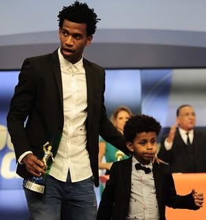 Gil Corinthians prêmio Brasileirão Bem, Amigos! (Foto: Marcos Ribolli)