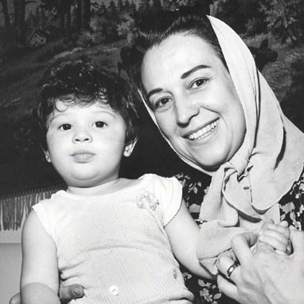 Claudia Raia e sua mãe, Odete (Foto: Reprodução Instagram)