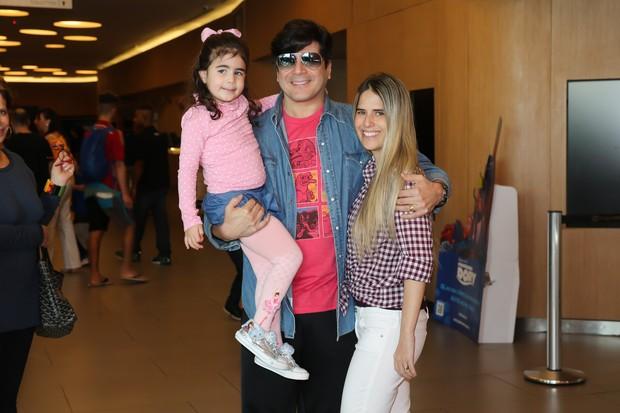 Paulo Ricardo com a família (Foto: Manuela Scarpa/Brazil News)