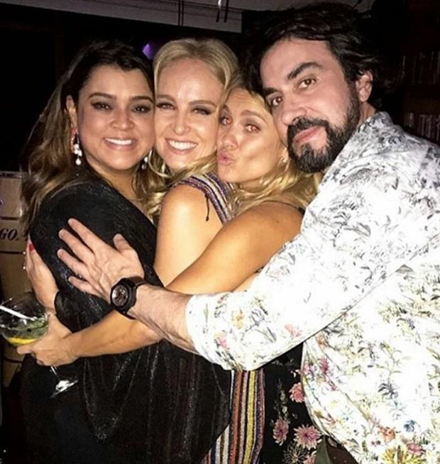 Preta Gil, Angélica, Carolina Dieckmann e Padre Fábio de Melo (Foto: Reprodução/Instagram)