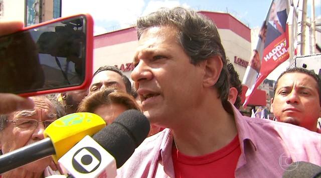 Fernando Haddad não tem atividade de campanha nesta quinta-feira (20)