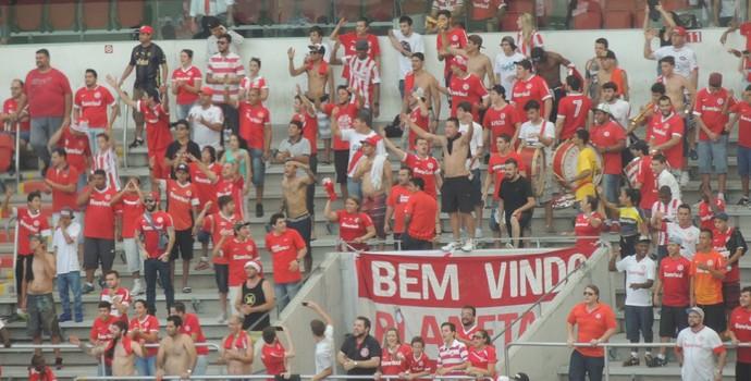 Beira-Rio sem cadeiras torcida Guarda Popular Inter (Foto: Tomás Hammes / GloboEsporte.com)