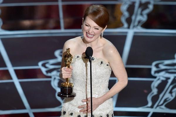 Moore ganhou o Oscar de Melhor Atriz em 2015, por seu papel em Para Sempre Alice (Foto: Getty Images)