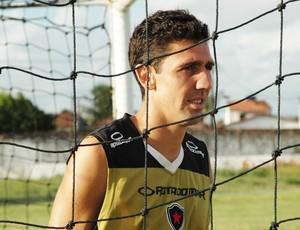 Edgard, Campeonato Paraibano, Paraíba, Botafogo-PB (Foto: Lucas Barros / Globoesporte.com/pb)