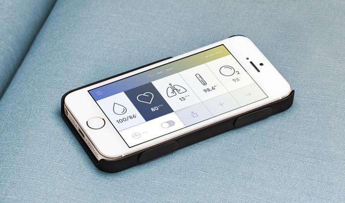 Wello é capa para iPhone que mede a saúde do usuário de forma mais completa que o Galaxy S5 (Foto: Divulgação/Wello)