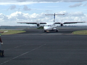 Aeroporto Integração no Bairro Araxá MG Alto Paranaíba Zona Oeste Bairro São Geraldo (Foto: Reprodução/TV Integração)