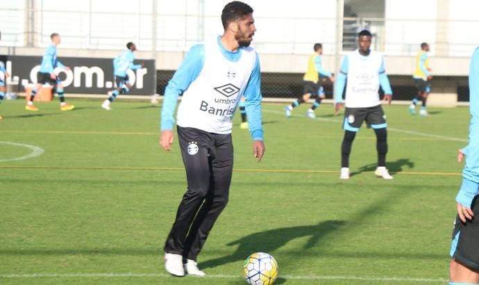 Wallace Reis Iago Grêmio (Foto: Eduardo Moura/GloboEsporte.com)