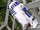 Robô R2-D2 vira 'garoto-propaganda' de curso de robótica, em Manaus