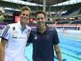 Cielo e Thiago elogiam piscina olímpica, mas calor é ponto negativo