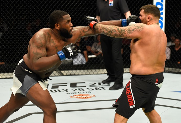 Justin Willis James Mulheron UFC Escócia (Foto: Getty Images)