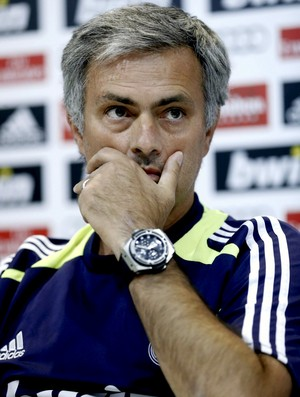 Jos&#233; Mourinho coletiva Real Madrid (Foto: EFE)
