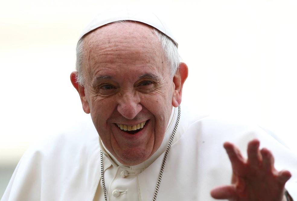 Papa Francisco em foto de 23 de março (Foto: Alessandro Bianchi/Reuters)