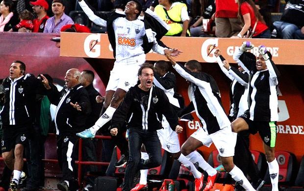 Cuca comemoração Atlético-MG Tijuana (Foto: Reuters)
