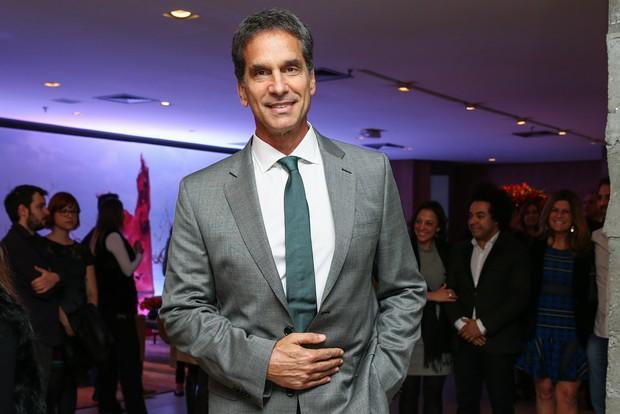 Victor Fasano em pré-estreia de filme em São Paulo (Foto: Manuela Scarpa/ Foto Rio News)