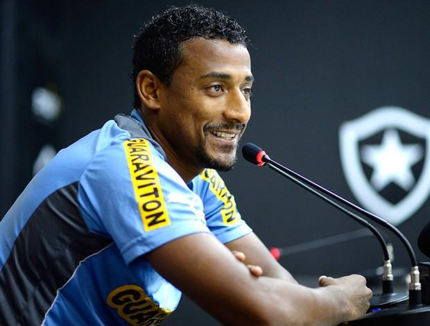 Elias Coletiva Botafogo (Foto: Fernando Soutello / Agência estado)