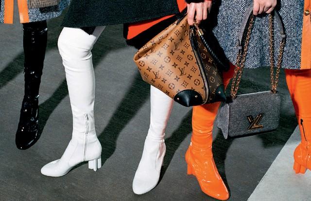 Louis Vuitton (Foto: Tom Munro/Reprodução Vogue Itália P. 108 e Divulgação)