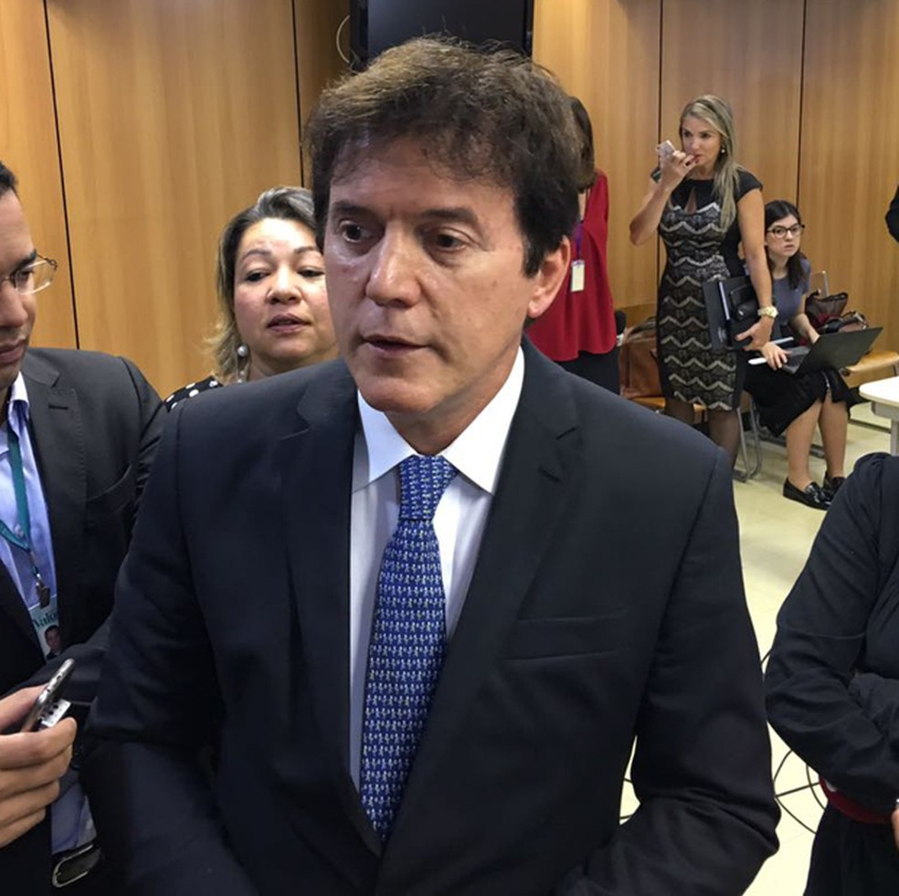 Governador do Rio Grande do Norte foi a Brasília tratar da crise penitenciária no estado (Foto: Gustavo Garcia/G1)