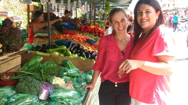 Karina Simas e Janaina Hohne (Foto: Arquivo Pessoal)