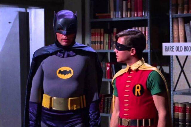 Cena da série 'Batman' (Foto: Reprodução)