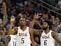 Com 23 pontos de Durant, Estados Unidos atropelam a Argentina