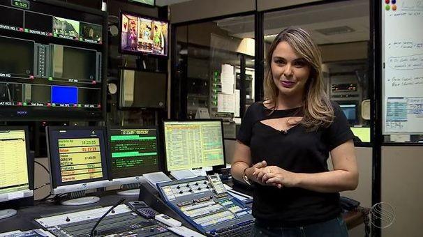 Kedma Ferr produziu reportagens especiais (Foto: Divulgação / TV Sergipe)