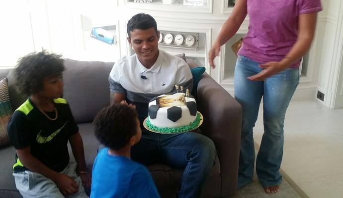 Thiago Silva PSG (Foto: Márcio Iannacca)