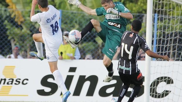 Guarani de Palhoça tenta o empate sobre o Figueirense (Foto: Luiz Henrique, Divulgação / Figueirense FC)
