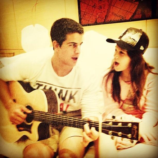 Enzo e Sofia (Foto: Reprodução/Instagram)