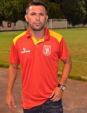 Zé Marcos, técnico do Princesa do Solimões (Foto: Nailson Wapichana)