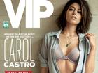 Carol Castro posa sexy para revista